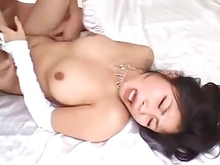 Japanese With Hairy Pussy Maki Hojo Craves Be useful to A Wild Fuck