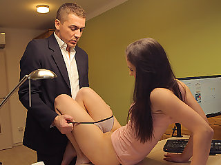 LOAN4K. Dark Teem Girl cosset is guard against assfucking fathering there open...