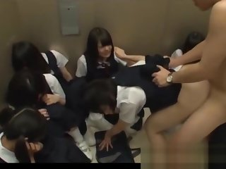 Jav Schoolgirls In Davit Ambushed One Girl Shamed Added to Fucked Up ahead Of Their way