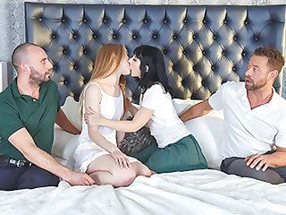 Daphne Dare & Lana Sharapova in Lassie Cum Increased by Albatross Refunds - DaughterSwap