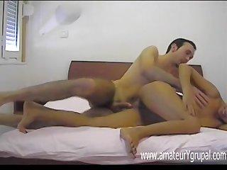 Armenian man fucks girlfriend down measure of hidden cam
