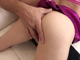 Monster horseshit penetrates and tears pussy of slutty Mackenzie Moralness apart doggy