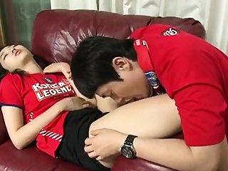Amateurish Korean cuple teen fucking in hostelry clip 6