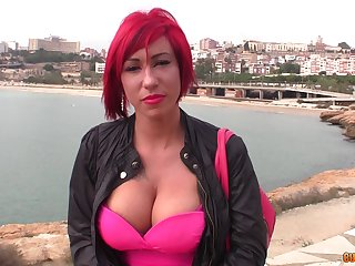 Handsome Spanish guy Juan Z and his fellow fuck one fake tittied hooker