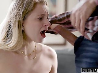 PURE TABOO Dad Manipulates Step-Daughter Into Dealings
