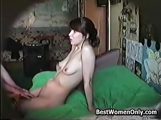 Russian Hairy Newborn Amateurs Home Coition With Old Guy