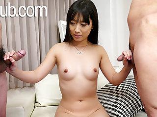 JAVHub Big tuchis Tomomi Honzawa has a trio